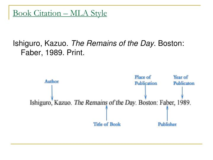 mla style book citation Citation help for mla, 8th edition: book review home reference formats toggle dropdown  end the citation with a period if the pages do not run consecutively, then indicate beginning page of the article followed by a + sign [the above information is based on p29 of the mla handbook 8th edition.
