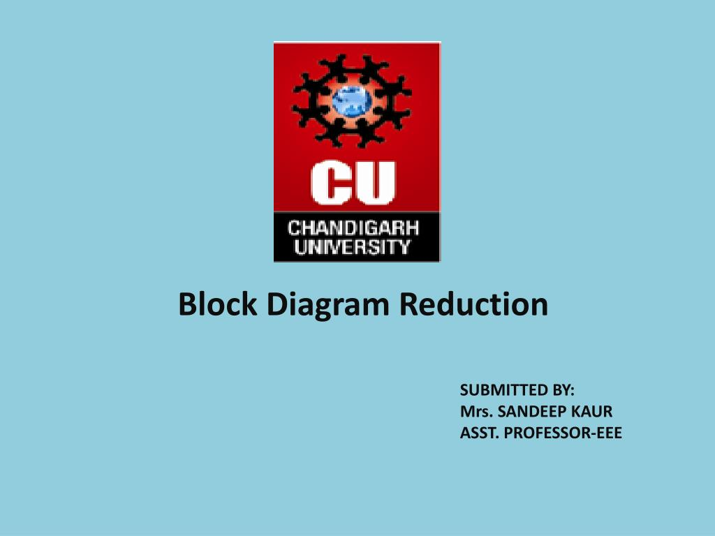 block diagram reduction n.