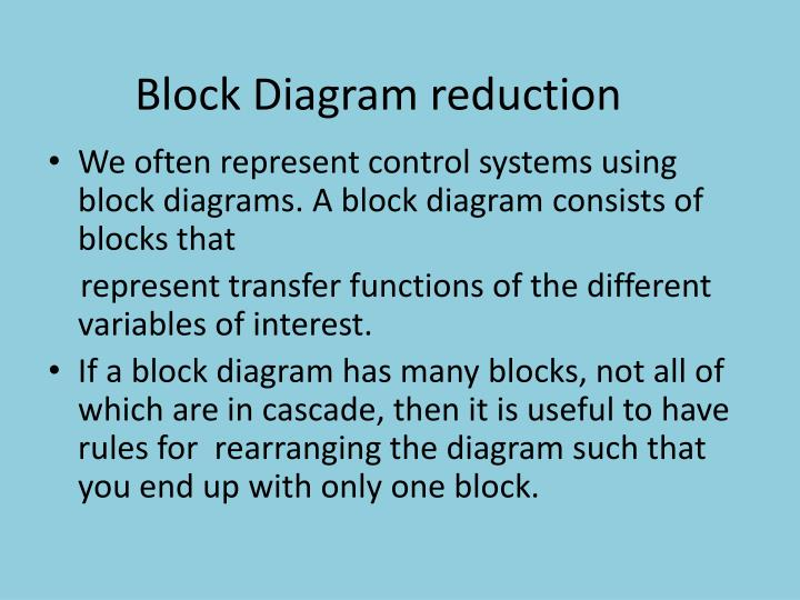 Ppt Block Diagram Reduction Powerpoint Presentation Id2424333