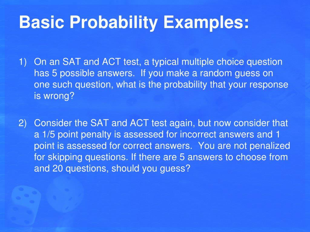 PPT - 3 1 & 3 2: Fundamentals of Probability PowerPoint