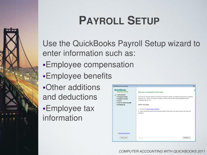 payroll accounting 2011 chapter 7 project Live project project management framework guides you through development of an accounting system divides the project into milestones for system development.