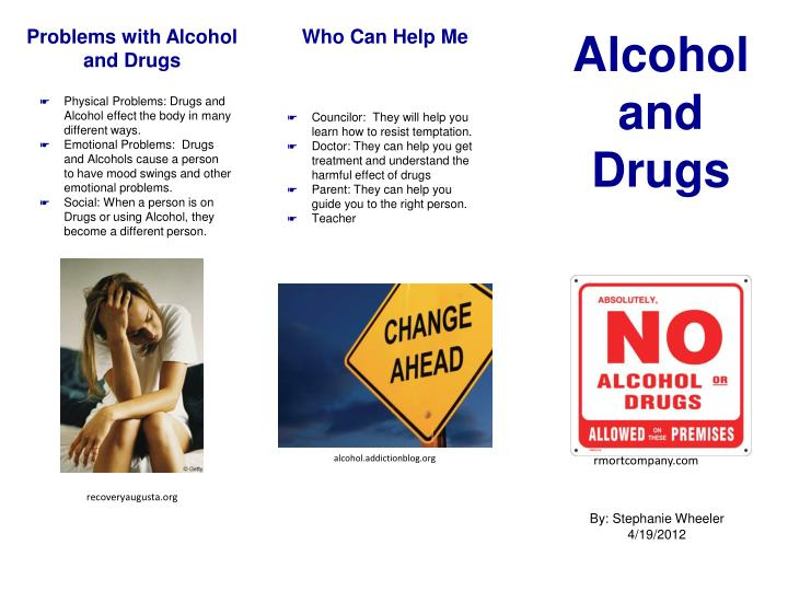 how drugs affect families presentation