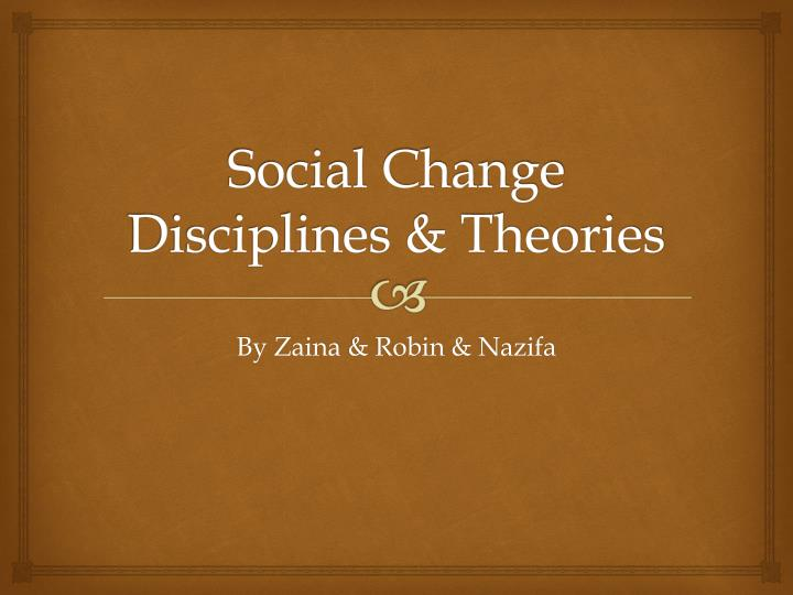 psychological disciplinary theories Learn how social psychology studies the social psychology is a discipline that uses scientific methods to understanding social exchange theory in psychology.