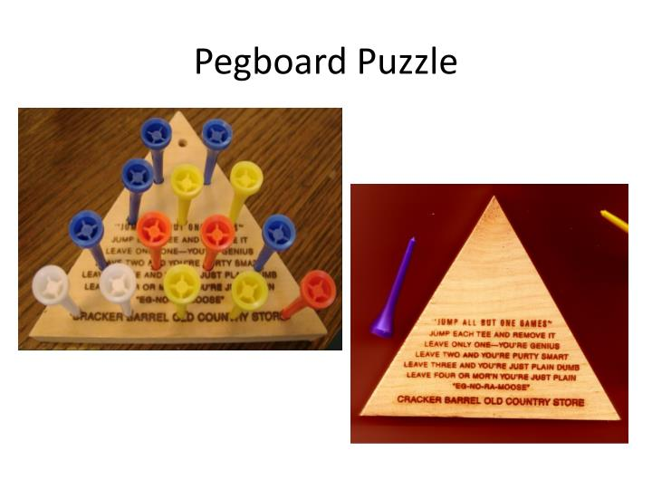 Pegboard Puzzle
