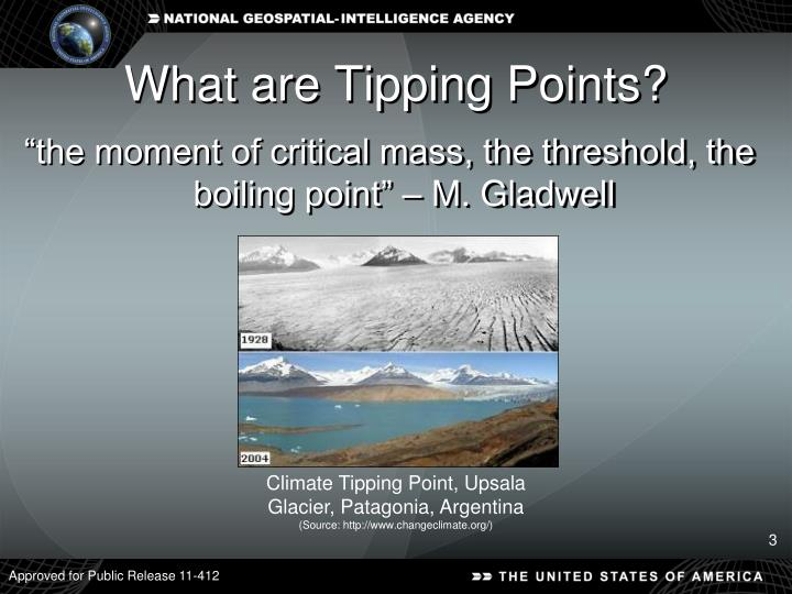 What are tipping points