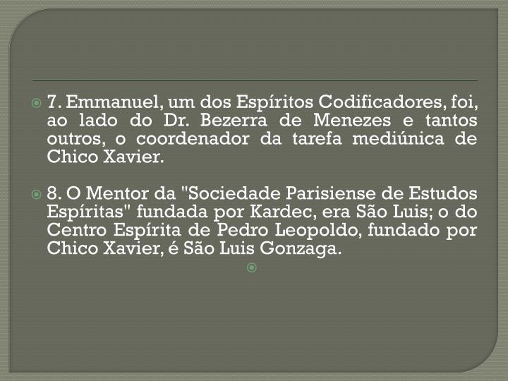 7. Emmanuel