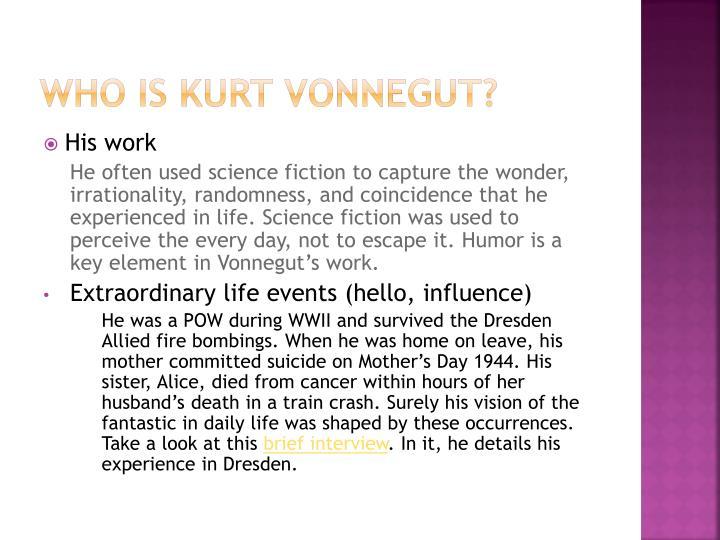 Who is kurt vonnegut
