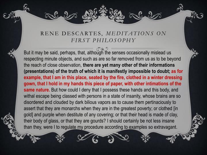 Rene Descartes,