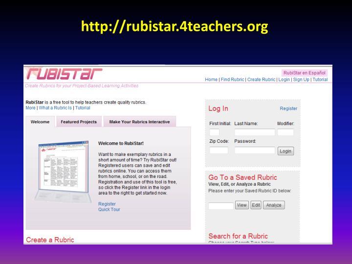 http://rubistar.4teachers.org