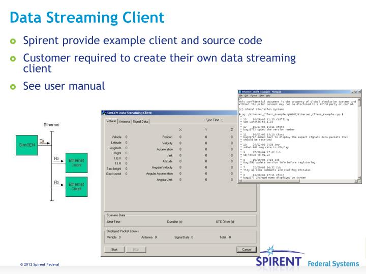 Data Streaming Client