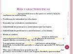 m s caracteristicas