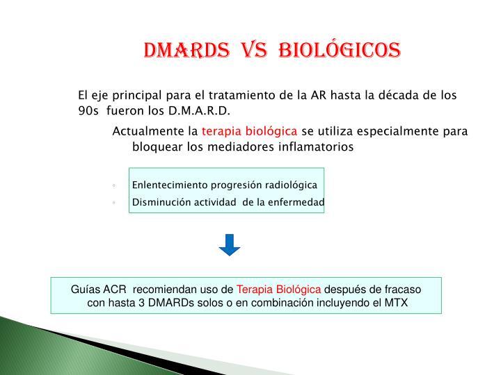 DMARDS  Vs  biológicos