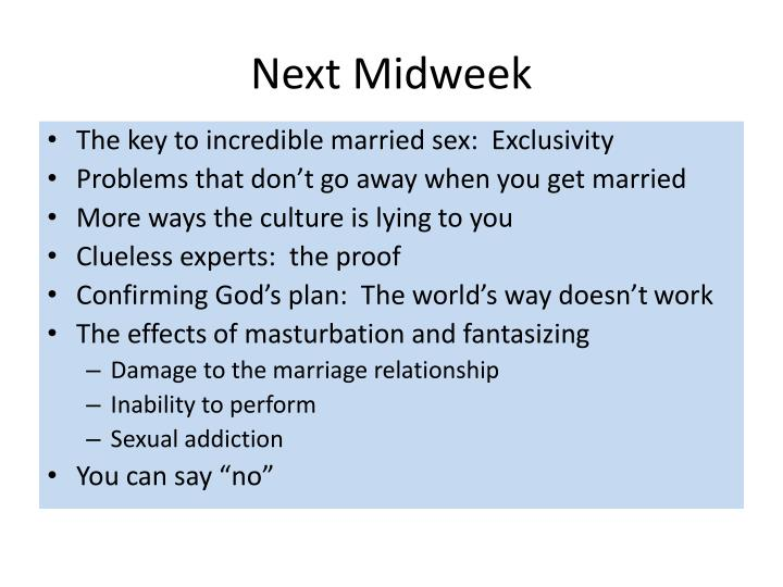 Next Midweek