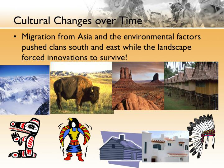 Cultural Changes over Time