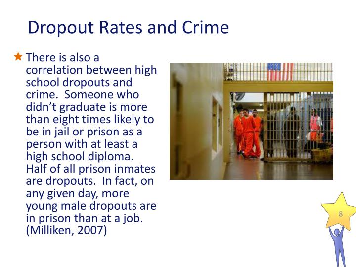 high school dropouts and crime