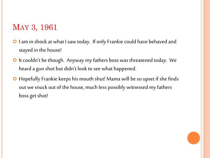 May 3 1961