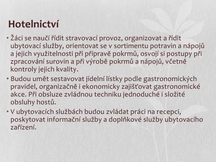 Hotelnictv
