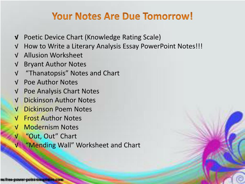 Ppt Poetry Unit Review Powerpoint Presentation Free