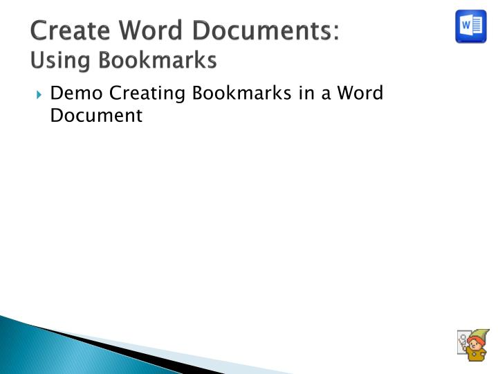 Create Word Documents: