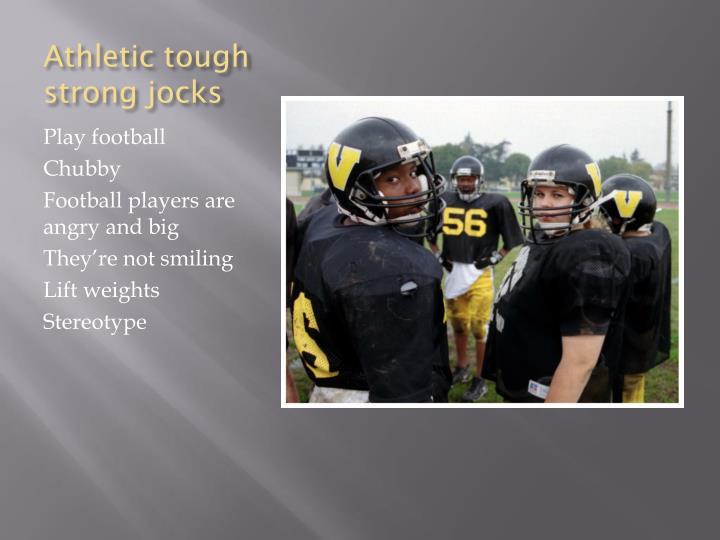 Athletic tough strong jocks