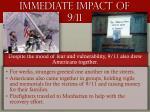 immediate impact of 9 111