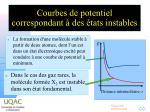 courbes de potentiel correspondant des tats instables1