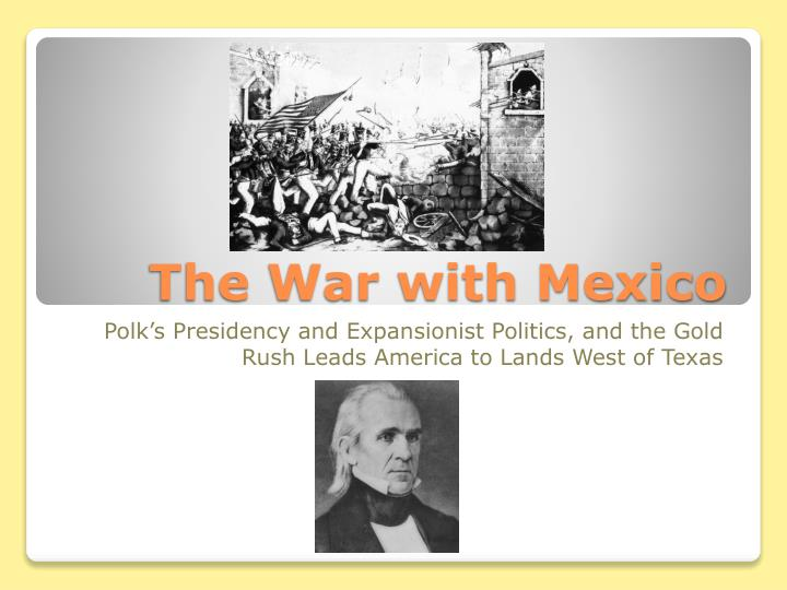 the war with mexico n.