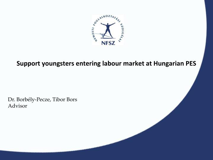 support youngsters entering labour market at hungarian pes n.