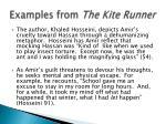 examples from the kite runner