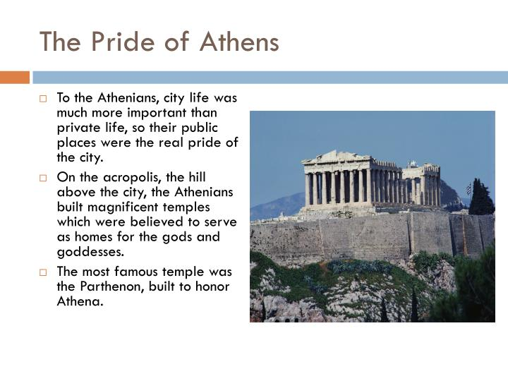 The Pride of Athens