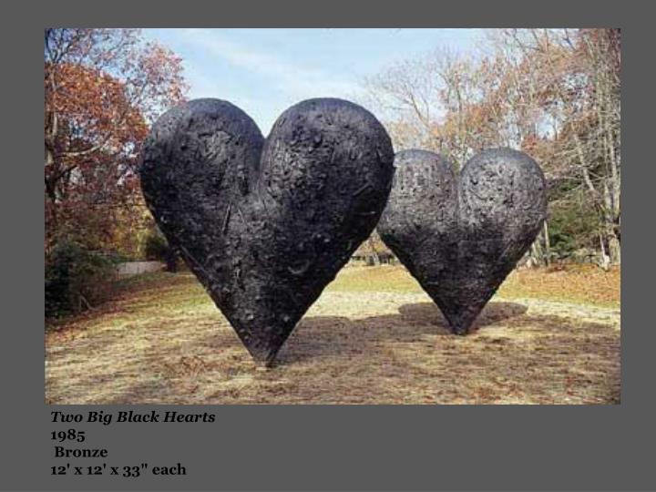 Two Big Black Hearts