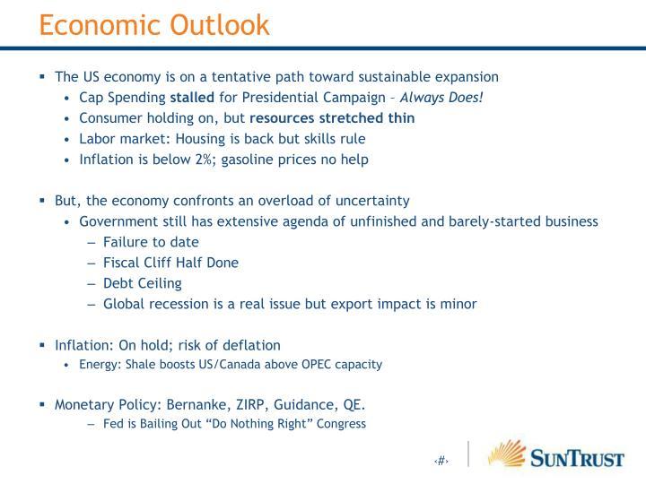 Economic outlook1