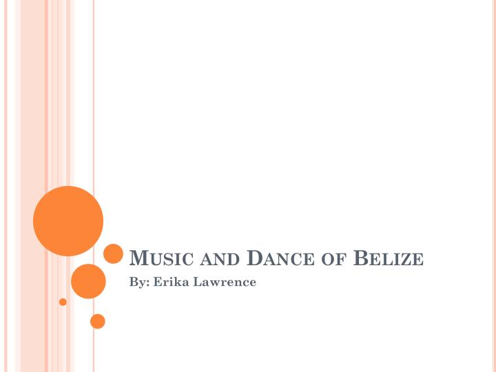 music and dance of belize n.