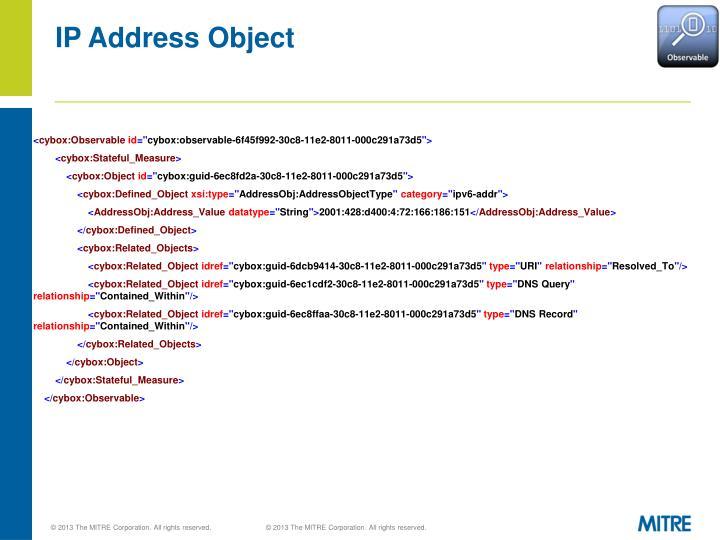 IP Address Object