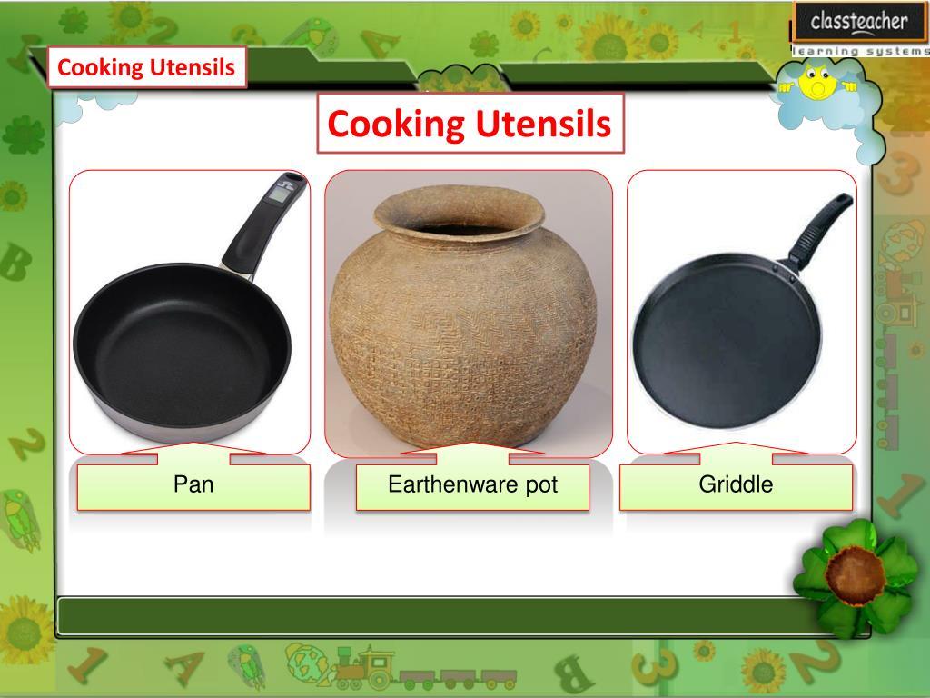 Ppt Cooking Utensils Powerpoint Presentation Free