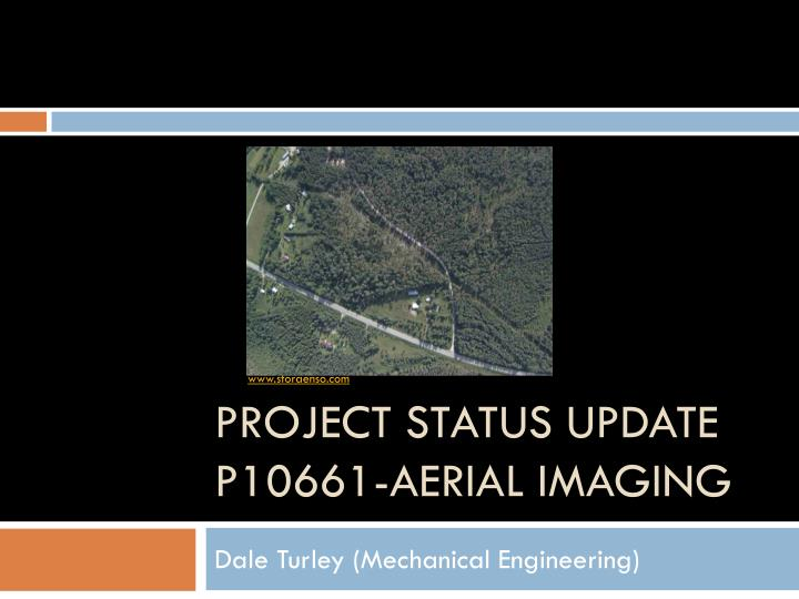 project status update p10661 aerial imaging