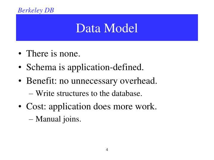 ppt berkeley db powerpoint presentation id 2431156 rh slideserve com Berkeley DB Source Oracle Coherence