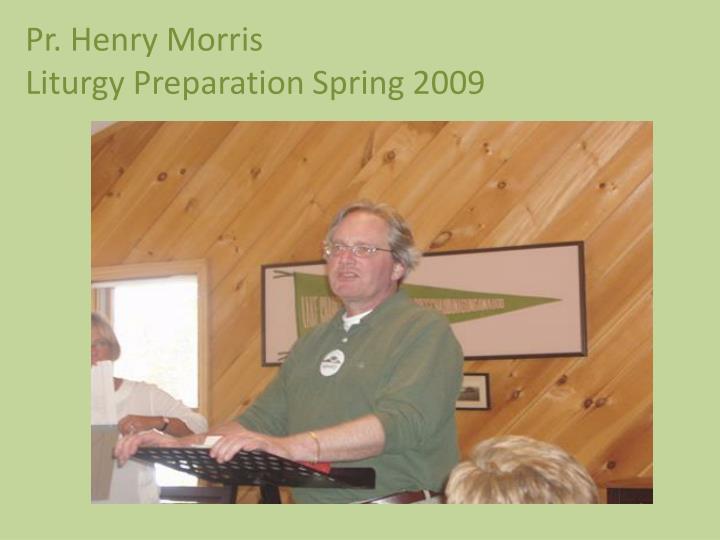 Pr. Henry Morris