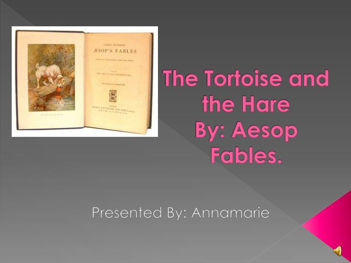 the tortoise and the hare by aesop fables