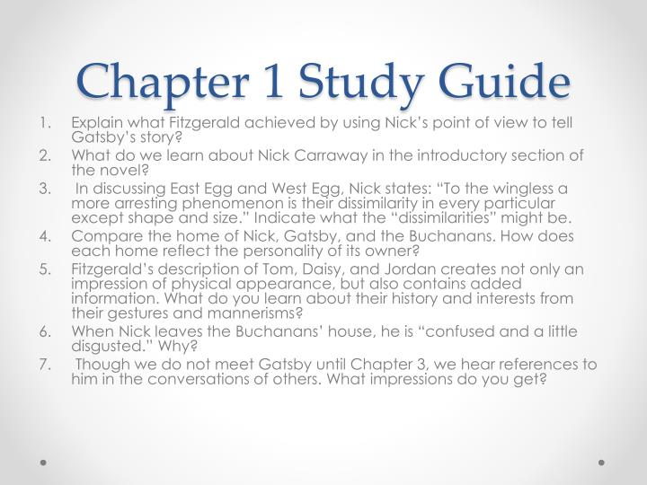 Chapter 1 study guide