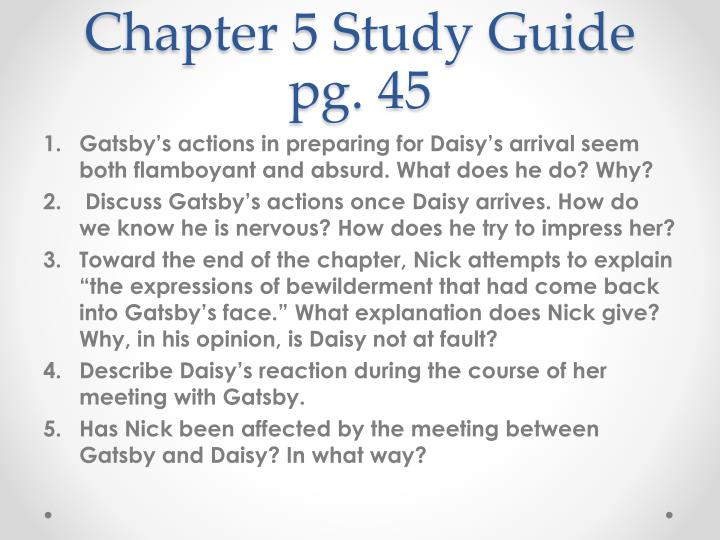 Chapter 5 Study Guide pg. 45