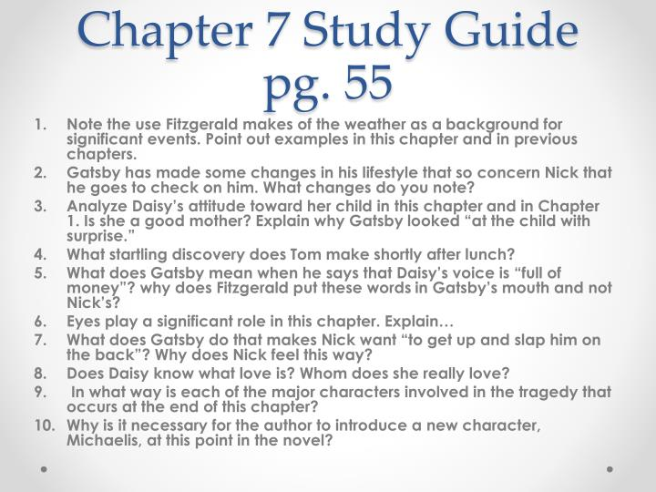 Chapter 7 Study Guide pg. 55