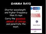 gamma rays