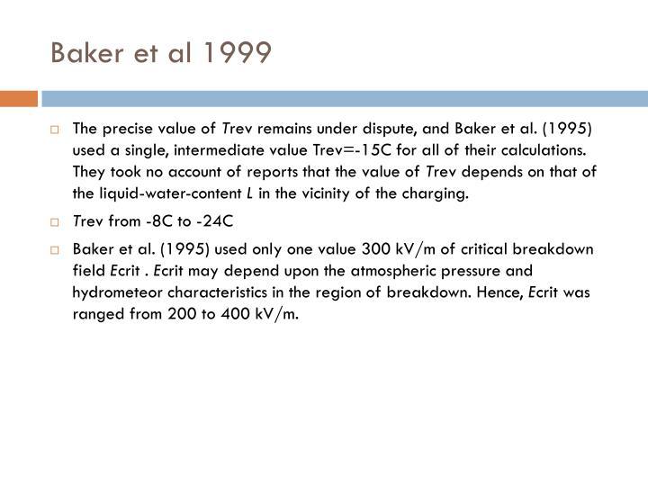 Baker et al 1999