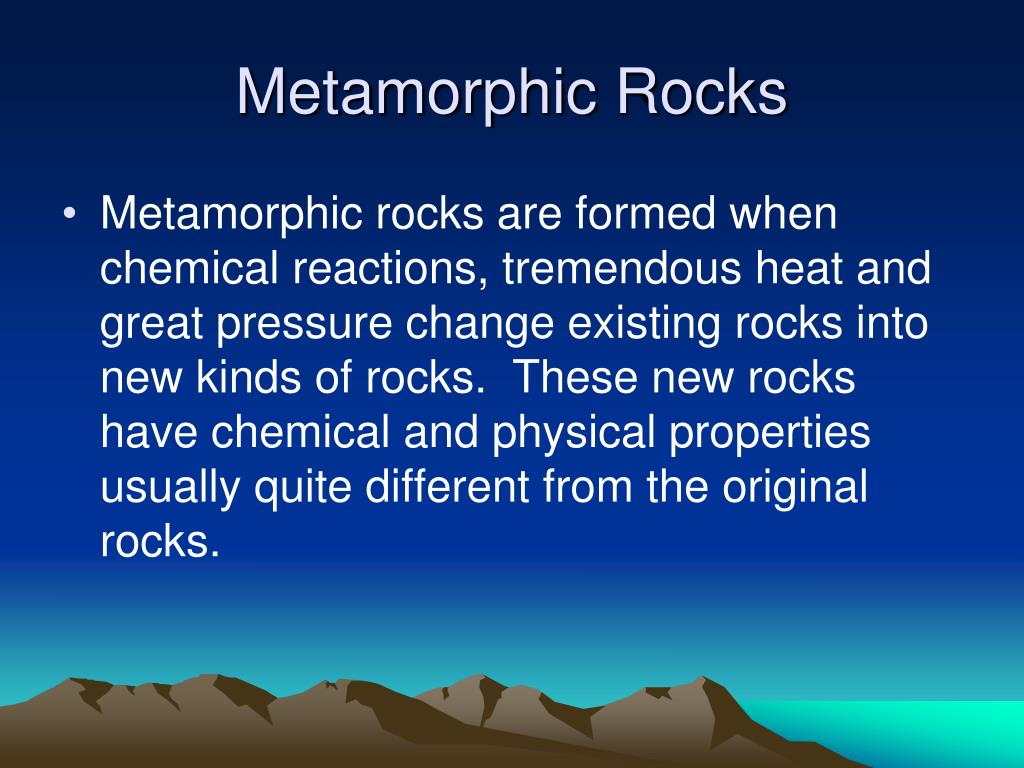 PPT - Types of Rocks PowerPoint Presentation - ID:2432145