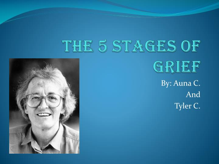 the 5 stages of grief n.