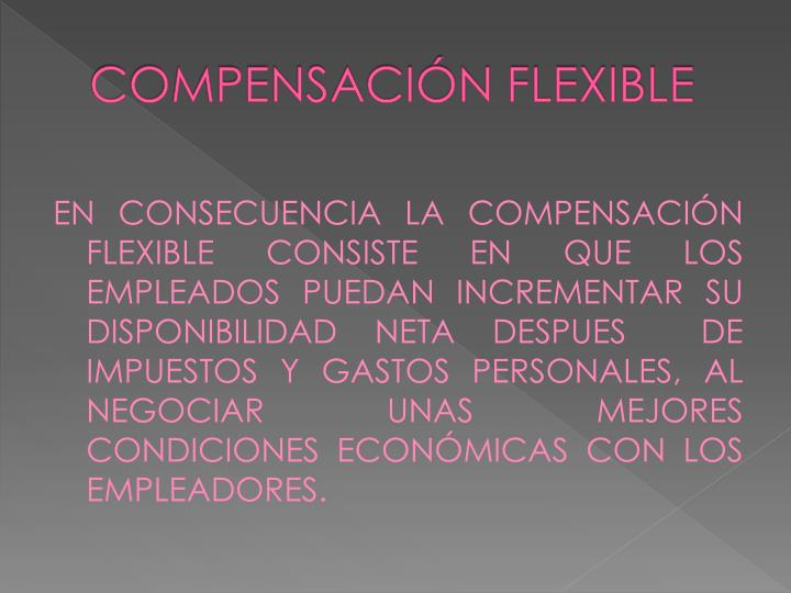Compensaci n flexible1
