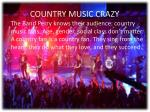 country music crazy
