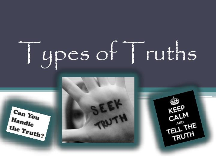 types of truths n.