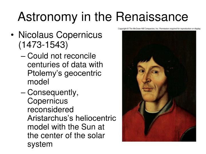 astronomy in the renaissance n.